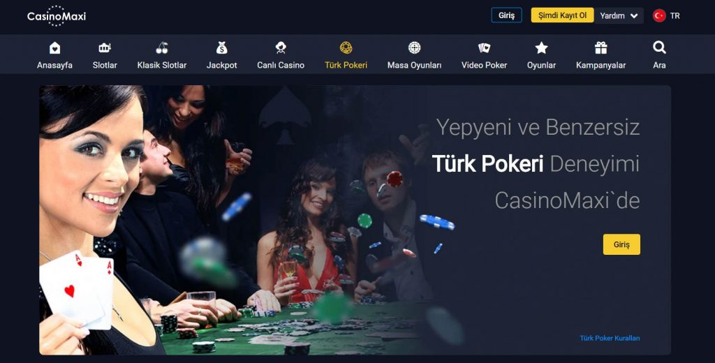 Casinomaxi Poker