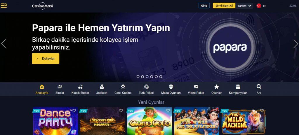 Casinomaxi Poker Oyna